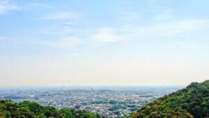 箕面市の風景