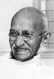 ガンジー晩年の画像