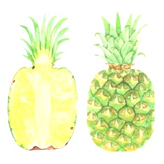 パイナップル画像