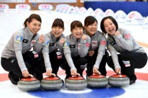 女子カーリングチーム