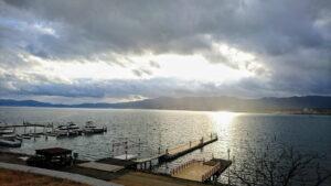 琵琶湖の風景