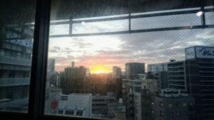 夕焼け写真