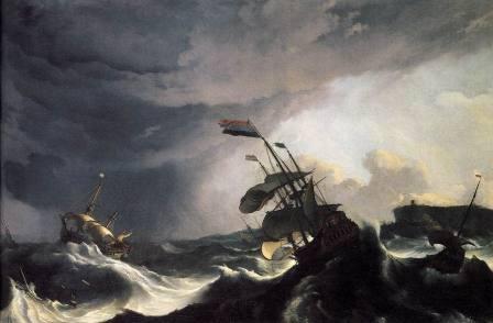 荒れ狂う海画像