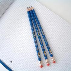 消しゴム付鉛筆